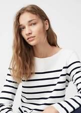 Mango Interwoven Drawstring Sweater Size UK 8 DH076 KK 07