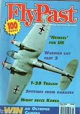 Flypast 1995 May T-28 Trojan,Mosquito,Malaya,Spitfire,RB-45,Waco.Pembroke