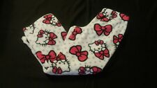 Women's Hello Kitty Fleece Plush Pajama Pants Sleep Wear Size Small