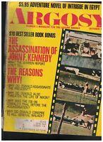 Argosy Magazine October 1970 JFK Assassination Bugatti Royale Yellowstone