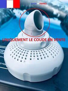 Coude courant circulaire pour une crépine 38mm piscine INTEX