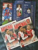 Arsenal v Crystal Palace-Scored 0:0 PREMIER LEAGUE PROGRAMME 14/1/2021 BUY NOW