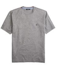 Brooks Brothers Heather Grey Supima Cotton Crewneck T-Shirt Sz Large L 3223-4