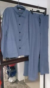 Abverkauf! Mantel, Kittel, Arbeitsbekleidung, Berufsbekleidung blau