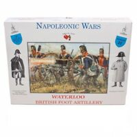 CALL TO ARMS WATERLOO BRITISH FOOT ARTILLERY CREW 16 FIGURES 1/32 FREE SHIP