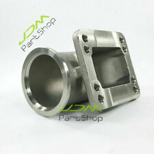 """3.0"""" V Band Elbow Adapter to T3 T4 Flange Conversion Adaptor Kit Stainless Steel"""