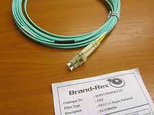 Fibre Optic Cable Duplex Patchcord Brand-Rex 50/125 Multimode LC/LC 5M