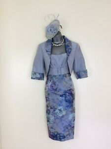 🌸 Ispirato Size  12  (14)  Symphony in Blue Outfit Mother Of Bride Groom 🌸