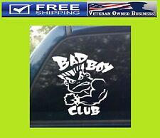 MMA UFC BAD BOY CLUB VINYL DECAL STICKER Car Auto Truck Bumper Fight Club