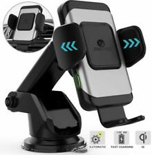 Brand new Wireless Car Charger,10W Qi Fast Charging Auto-Clamping Car Mount