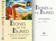 David Roberts - Bones of the Buried - Signed - 1st/1st