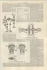 1924 bomba centrífuga bomba de extracción Mirrlees Watson
