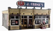 WOODLAND SCENICS BUILT & READY J.FRANK'S GROCERY O SCALE BUILDING