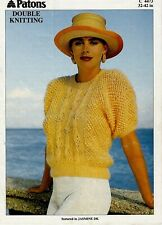 Patons DK knitting pattern Women's Sweater