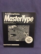 The Scarborough System MasterType Commodore 64 instruction manual