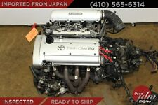 Toyota Corolla 4A-GE Silver Top JDM 4AGE 20 Valve Engine 5 Speed Manual Trans