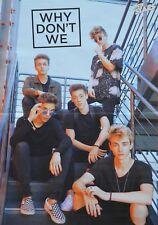 WHY DON´T WE - A3 Poster (ca. 42 x 28 cm) - Clippings Fan Sammlung NEU