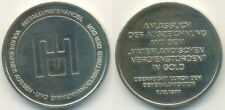 DDR Medaille, Metallurgiehandel, Vaterländischer Verdienstorden in Gold 1977