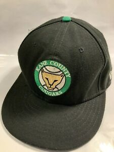 Kane County Cougars New Era 59Fifty Fitted Minor League baseball Hat SZ 7 1/4