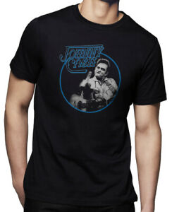 johnny cash T-shirt black