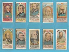 ELLIS - SET OF 25 GENERALS OF THE CIVIL WAR    (REPRO)