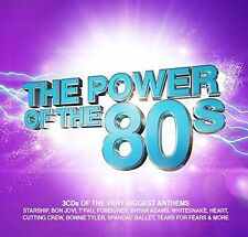 The Power of The 80s (2016 Music 3CD Compilation Free UK P&P) As Seen on TV !!!!