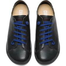 Camper Peu Cami 100249 Mens Black Soft Leather Lace Up Shoes Trainers Size 7-12