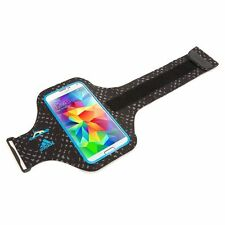 NEW GRIFFIN ADIDAS GALAXY S7 S6 SPORTS RUNNING ARMBAND CASE BLACK BLUE GB40518