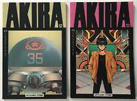 AKIRA #s 12 and 13 Katsuhiro Otomo Japanese Manga Graphic Novel Epic Comics 1989