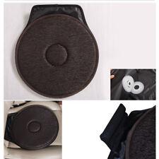 Universal Car Auto Seat Cushion Comfortable Memory Foam Swivel Chair Cover Brown
