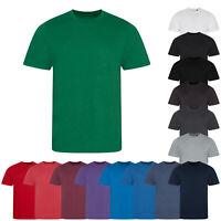 AWDis Just T's Unisex Plain Triblend Short Sleeved Crew Neck T-Shirt Tee Top