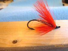 Steelhead Salmon Trout Fall Favorite #4 Flies US Alaska Canada  (X4)