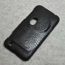 For Asus Zenfone Zoom ZX550 ZX551ML Black Alligator PU Coated hard case cover