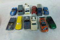 """12 Hot Wheels Diecast Emergency Vehicle Vintage Car Van 3"""" Toy"""