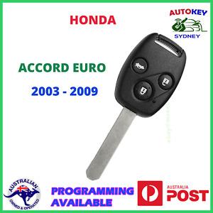 HONDA ACCORD EURO KEY REMOTE 2003 2004 2005 2006 2007 2008 2009