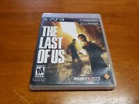 The Last of Us (Sony PlayStation 3, 2013) PS3 TESTED Fast Shipping