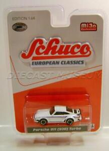 PORSCHE 911 930 TURBO MIJO EXCLUSIVE SCHUCO EUROPEAN CLASSICS DIECAST 2020