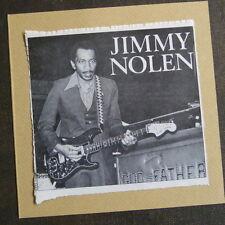 """POP-KARD feat. JIMMY NOLEN , 6x6"""" greeting card aag"""