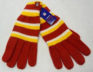 NWT NFL Kansas City Chiefs Women's Reebok Winter Knit Gloves OSFM NEW