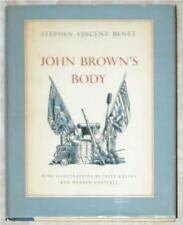 JON BROWN'S BODY ~ STEPHEN VINCENT BENET ~ ILLUS F. KREDEL & W. CHAPPELL ~ 1954