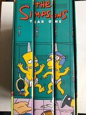 The Simpsons Season 1 Part Sealed VHS Video Retro, Supplied by Gaming Squad
