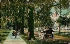 Florida, FL, De Land, Clara Street, Public School Early Postcard