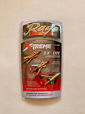 Rage X-treme Expandable 2 Blade Chisel Hunting Practice Head 3 Pieces