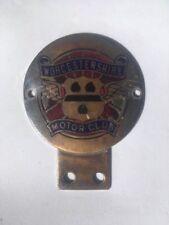 Worcestershire Motor Club Car Badge