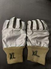 Firefighter Gloves Aluminum Size Xl