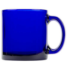 Set of 6 Libbey 5213B Cobalt Blue 13 oz Warm Beverage Mug