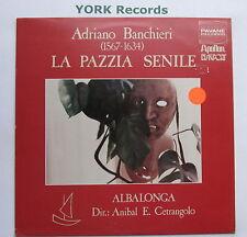 ADW 7102 - BANCHIERI - La Pazzia Senile - CENTRANGOLO Albalonga - Ex LP Record
