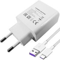 Original HUAWEI 5A SuperCharge Ladegerät Netzteil + USB-C Ladekabel Mate 9 9 Pro