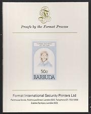 Barbuda (628) 1981 FIRENZE nighting HUNGARIAN SU CARTA FORMATO PROVA internazionale