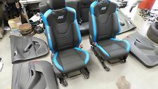 Ford focus MK3 RS recaro half leather full interior seat frnt rear door card 16+